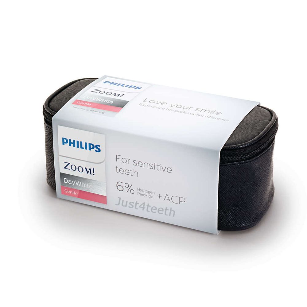 Zoom DayWhite Gentle 6% hydrogen peroxide 6 syringe kit