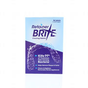 Retainer Brite Cleaning Tablets 96 Tablets - 3 Months Supply