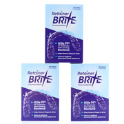 Retainer Brite Cleaning Tablets 288 Tabs - 9 Months Supply