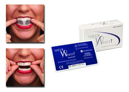 Sheer White Whitening Films