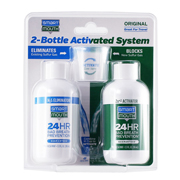 SmartMouth Original Activated Breath Rinse 2-Bottle System Travel size