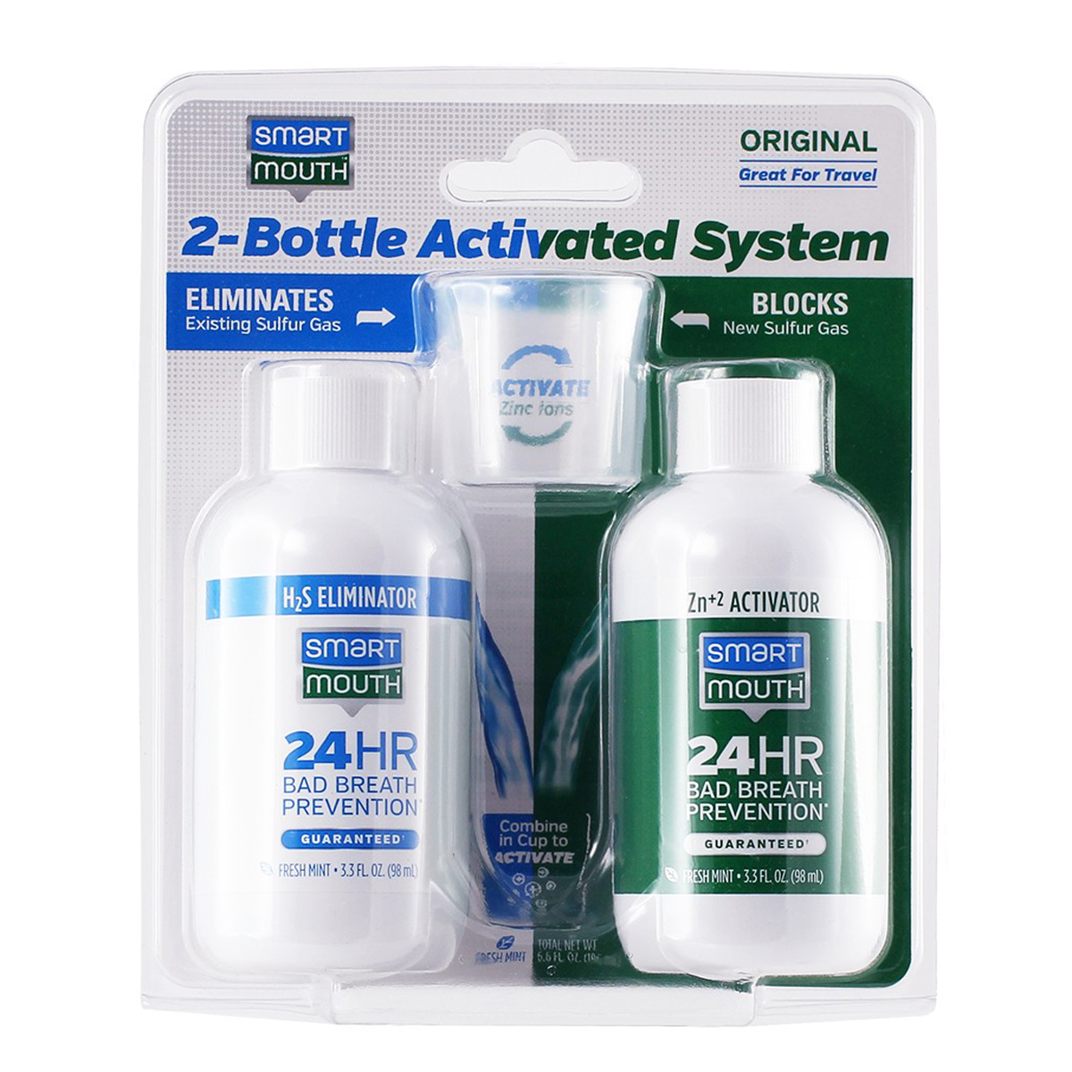 SmartMouth Original Rinse 2-Bottle System  SM160