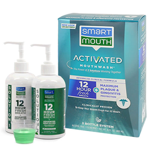SmartMouth Advanced Clinical Formula Mouthwash 16oz
