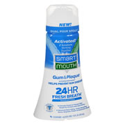 SmartMouth™ Clinical DDS Activated Oral Rinse (Mint) - Dual Pour Bottle