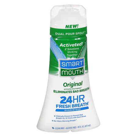 SmartMouth Original Formula Activated Mouthwash (Mint)