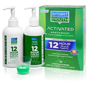 Smartmouth Mouthwash Orginal Mint Flavor 32oz