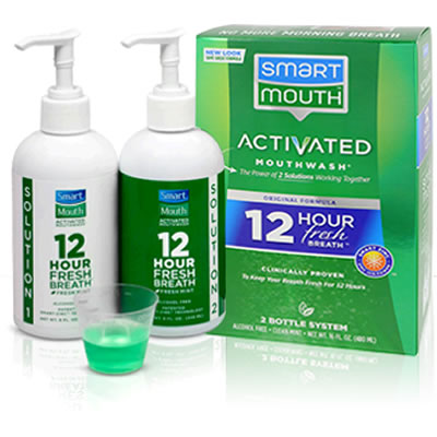 Image result for SMARTMOUTH ALCOHOL-FREE MOUTH RINSE