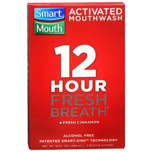 Smartmouth Mouthwash Cinnamon Flavor