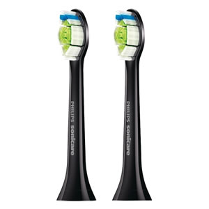 Philips Sonicare DiamondClean Standard Sonic toothbrush heads 2 packs Black Edition