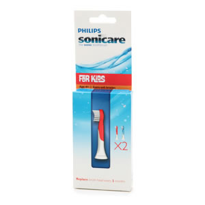 Sonicare Brush Heads for Kids - Ages 4-7 HX6032