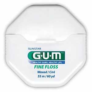 Butler GUM Fine Floss Waxed Mint 60yd 1960
