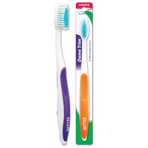 Butler GUM Dome Trim Toothbrush full soft 456
