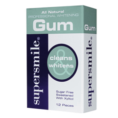 Supersmile Professional Whitening Gum 12pcs