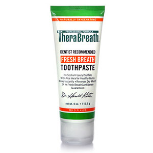 TheraBreath Toothpaste 4oz