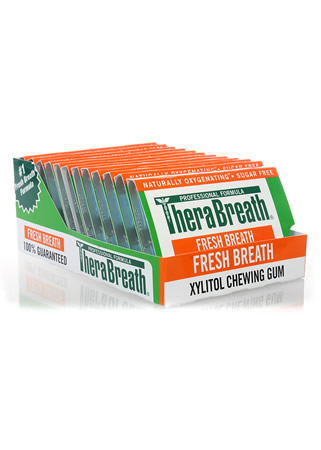 Therabreath Oxygenating Zinc Gum