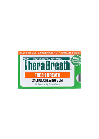TheraBreath Chewing Gum Single Sheet (12 pieces)