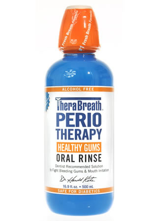 TheraBreath PerioTherapy Rinse - 16 oz
