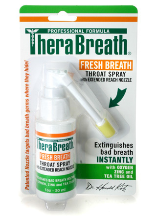 TheraBreath PLUS Oral Breath Spray