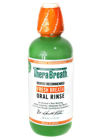 Therabreath Oral Rinse The Original Freshmint Oxygenating