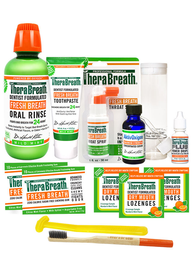 Therabreath Breath Care Starter Kit