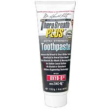 TheraBreath PLUS Toothpaste Extra Strength