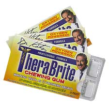 Therabreath Therabrite Teeth Whitening Gum