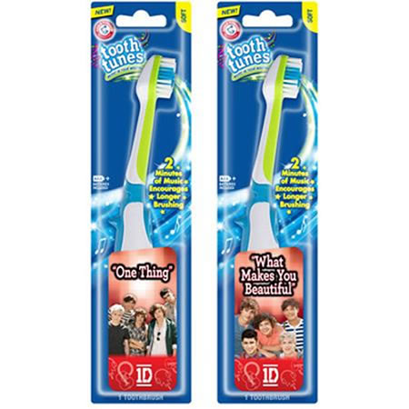 Tooth Toothbrush with Song by One Direction