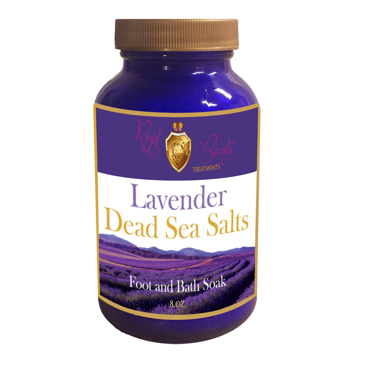 Lavender Dead Sea Salts 8 oz