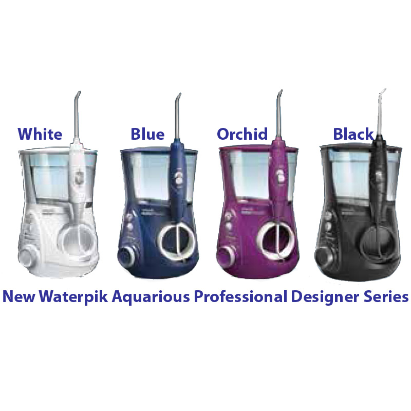 waterpik aquarius professional water flosser designer series orchid wp 675. Black Bedroom Furniture Sets. Home Design Ideas